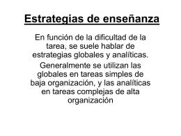 Estrategias de enseñanza - Instituto pestalozzi 4089