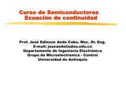 Para electrones - Universidad de Antioquia