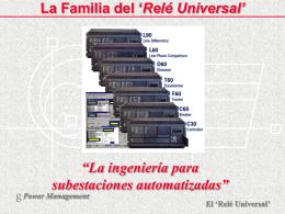 Relés General Electric UR (resumen)