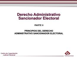 DASE II - Tribunal Electoral del Estado de Nuevo León