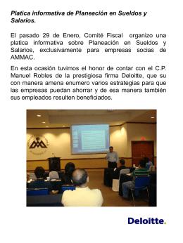 Diapositiva 1 - AMMAC