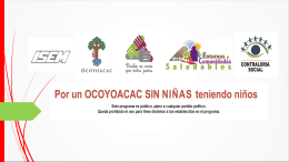 Población - Dirección General de Promoción de la Salud