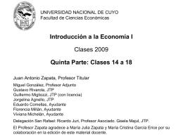 Introducción a la Economía I