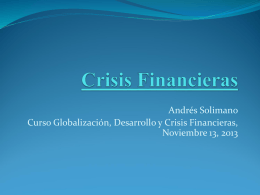 Crisis en Europa: Implicancias para América Latina y Chile