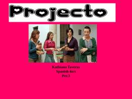 Kathiana Taveras Spanish 4n/s Per.3