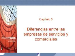 Capítulo 6 Diferencias entre las empresas de