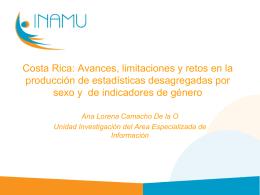 Costa Rica: Avances, limitaciones y retos en la producción de