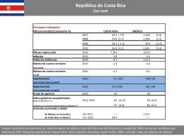 Costa Rica - Secretaría de Economía