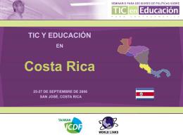 TIC y Educación en Costa Rica