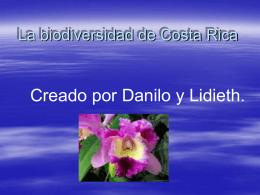 La biodiversidad de Costa Rica