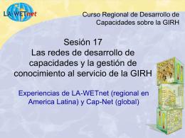 LA-WETnet Costa Rica 2003 - Cap-Net
