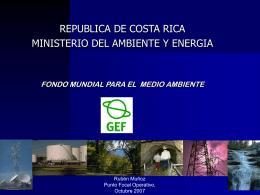 Programa de Apoyo al País de Costa Rica