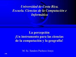 Universidad de Costa Rica. Escuela. Ciencias de