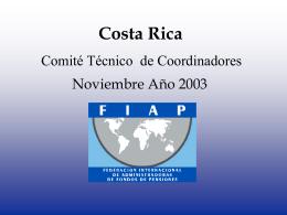 Costa Rica - V Reunión