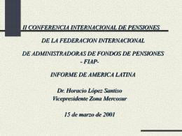 Presentación de PowerPoint - World Pension Association