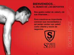 Slide 1 - Sports Land