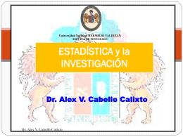 Dr. Alex V. Cabello Calixto 4