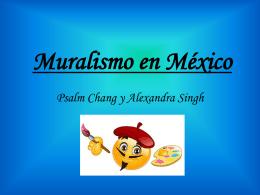 Muralismo en México