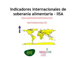 Diseño e implementación de indicadores internacionales de