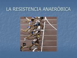 esistencia anaeróbica