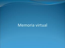 Memoria virtual - Universidad de Sonora