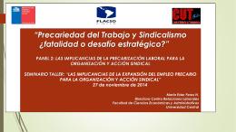 Presentación de PowerPoint - FLACSO