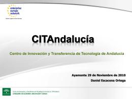 Centro de Innovación y Transferencia de Tecnología de Andalucía