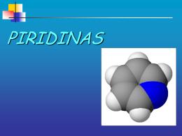 Reactividad de Piridinas