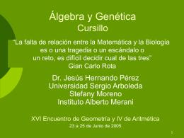 A→ k - Universidad Sergio Arboleda