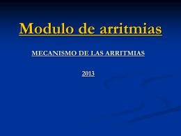 Módulo de arritmias1 Dr. Coluccini