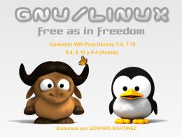 Conexión Wifi Para Ubuntu 7.4, 7.10 8.4, 8.10 y 9.4 (Actual)