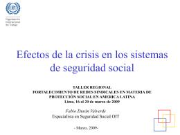 Nacimiento y evolución de la seguridad social a nivel mundial