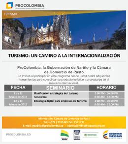 ProColombia y SOCIO REGIONAL Invitan al Programa de