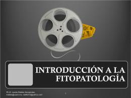 Introducción a la fitopatología