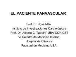 el paciente panvascular