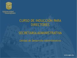 Diapositiva 1 - SIIA - Universidad de Guanajuato