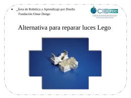 Alternativas para Conectar el Motor del Cricket al Sistema Lego