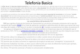 Telefonia Basica.
