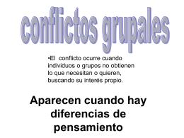 conflictos grupales