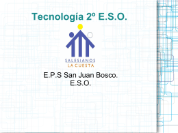 Tecnología 2º E.S.O.