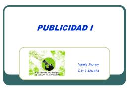 PROCESO DE PUBLICIDAD