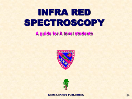Infra-red spectroscopy