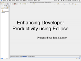 PowerPoint Presentation - Eclipse