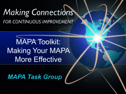 MAPA Toolkit
