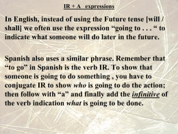 IR + A expressions