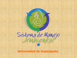 SMA - Universidad de Guanajuato
