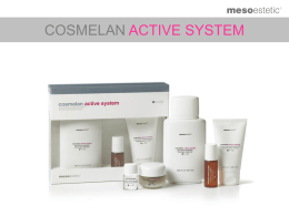Cosmelan Active System