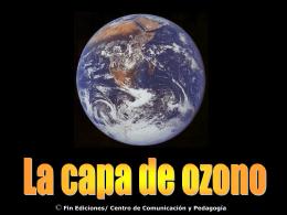 La capa de ozono - Biblioteca Escolar Digital