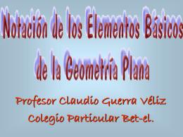 Presentación geometria poligonos