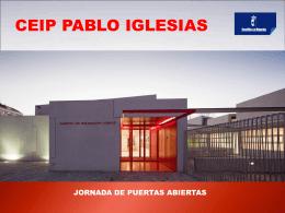 INN0VACIÓN TIC Jornada de puertas abiertas Pablo Iglesias 2014
